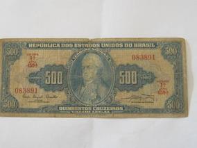Cédula 500 Cruzeiros