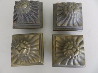 Antiguos Punteros Repuesto Para Cama Bronce