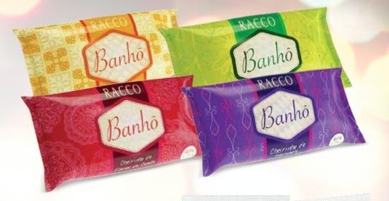 Kit Banhô Racco - 4 Sabonetes Em Barra De 90g Cada