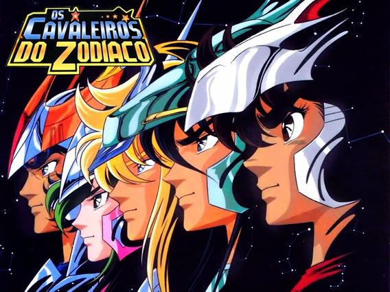 Dvd Os Cavaleiros Do Zodíaco Clássico - Série Completa