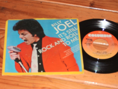 Billy Joel It's Still Rock & Roll To Me Simple Vinilo 80 Usa