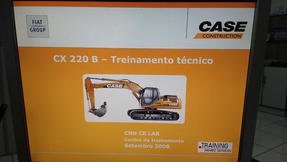 Manual De Serviço Escavadeira Hidráulica Case Cx220