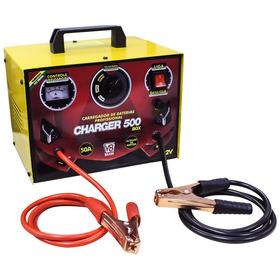 Carregador Baterias Charger 500 Box - 50a - Aux Partida Biv