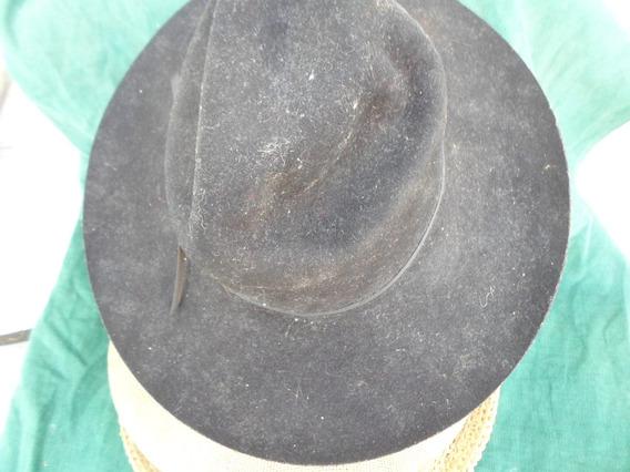 Sombrero Rodeo Usa Grande Pura Lana Talle Large Mbestado