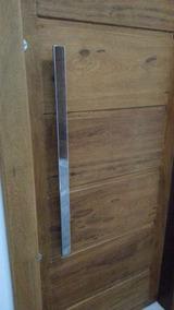 Par De Puxador Inox 304 Modelo Retangular 40 X 10 Com 80cm