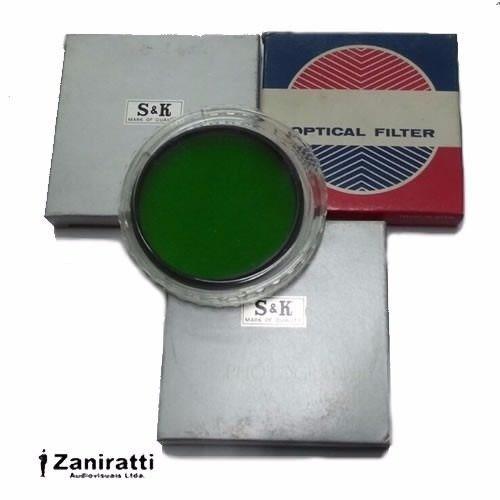 Kit 3 Filtro 77mm - Green 81b Spot - Várias Marcas