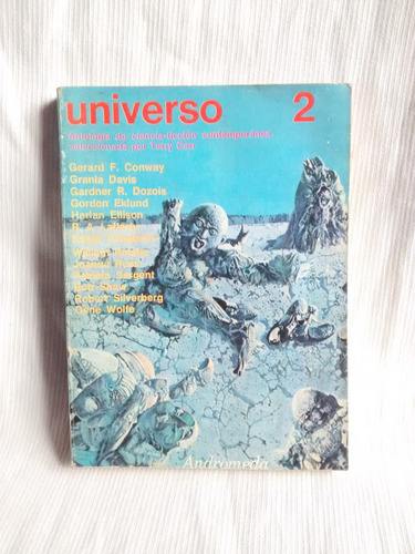 Imagen 1 de 5 de Universo 2 Antologia Ciencia Ficcion Sel. T. Carr Andromeda