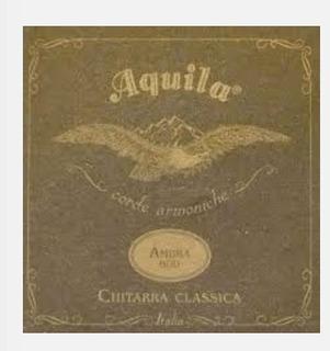 Cordas Violão Aquila Ambra 2000 Nylgutitália -históricas108c