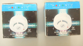 Sensor De Fumaça Fotoelétrico Ps812 Posonic