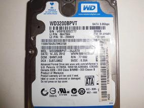 Hd 320gb Wd Scorpio Blue Wd3200bpvt *defeito