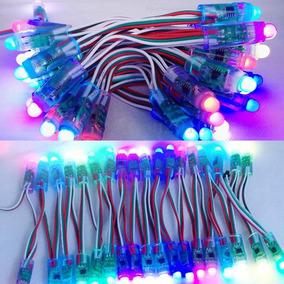 Kit 50 Módulos 12 Mm Led Pixel Endereçável Ws2811 5v