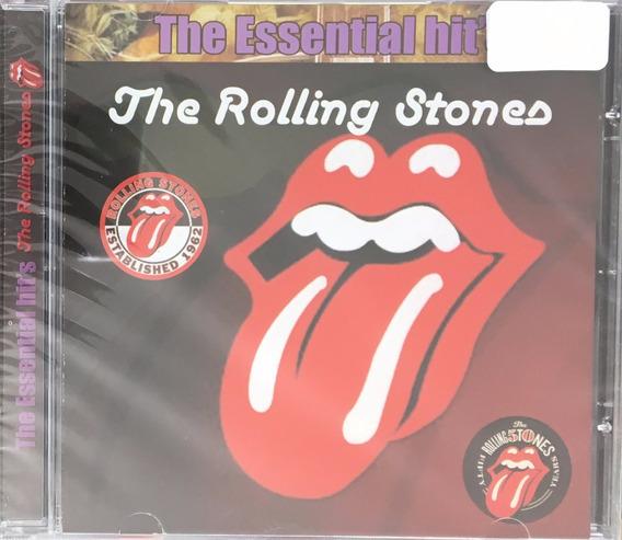 Cd Rolling Stones - The Essential Hits (original E Lacrado)
