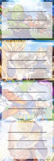 Etiquetas De Colegio De Anime De Dragon Ball
