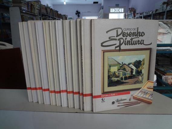 Coleção 12 Livros Desenho E Pintura Ed. Globo