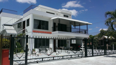 Hermosa Casa Amueblada En La Zurza Santiago