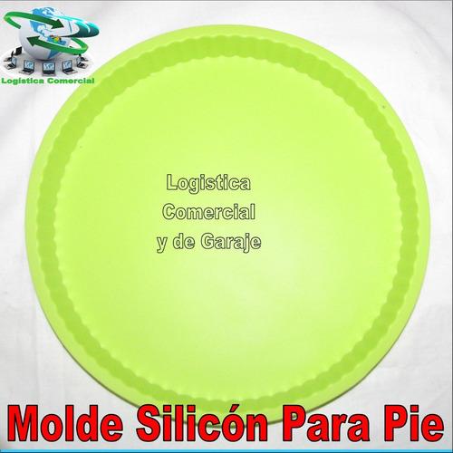 Molde De Silicon Para Torta Pie Desde Los -4 / 240 Grados