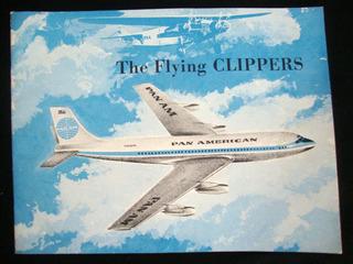 Avião Catálogo Antigo Pan American Publicação Antiga
