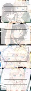 Etiquetas De Colegio De Anime De Boku Wa Tomodachi Ga Sukuna