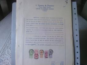 Aar -- Documento Com Selos De Fiscais Do Brasil