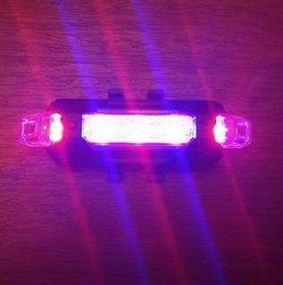 Luces Led Para Bicicleta 4 Usos Recargable Por Usb