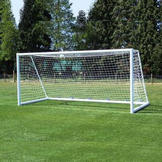 1 Red Arco Futbol 11 Profesional 7,5 X 2,5m Trapezoidal Reglamentaria Torneos - Resiste Agua Y Sol