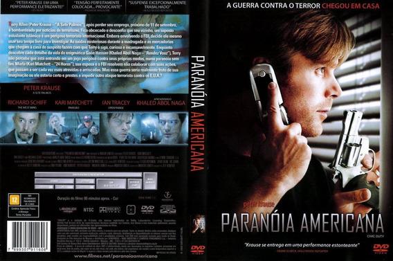 Filme Dvd Original Usado Paranóia Americana