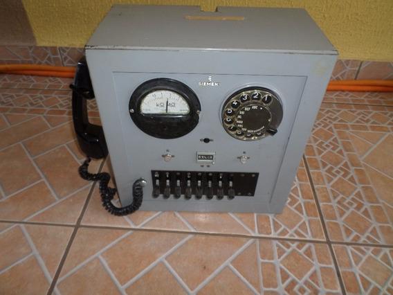 Central Telefonica Antiga Disco Siemens Antigo