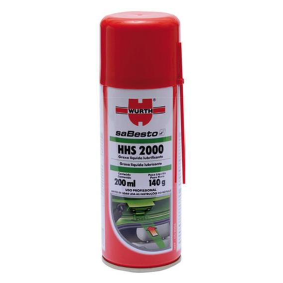 Graxa Líquida Lubrificante Hhs2000 - Wurth 200ml Imperdível