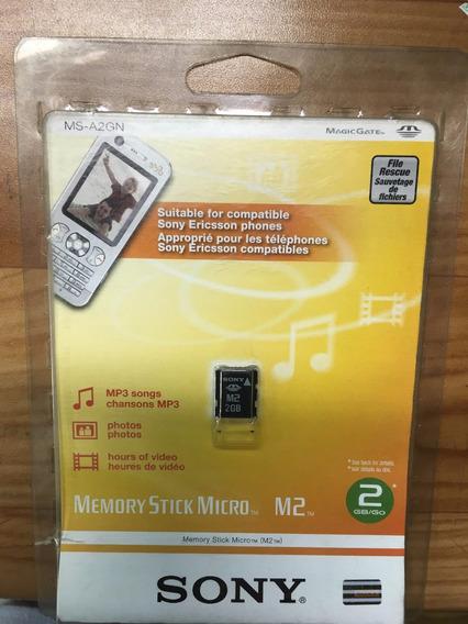 Cartão De Memória M2 Sony 2gb