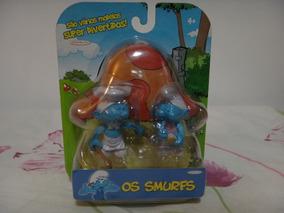 Os Smurfs - Miniaturas Smurfs Serie 1 - Jakks Pacific