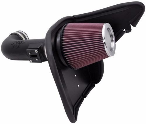 Filtro De Ar Kit Intake K&n Camaro Ss 6.2 63-3074
