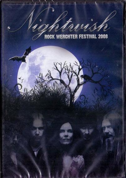 Dvd Nightwish - Rock Werchter Festival 2008 - Novo***
