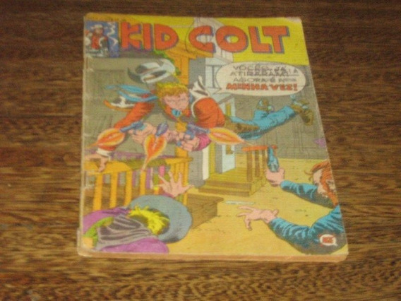 Kid Colt Nº 1 Março/1979 Rge Original