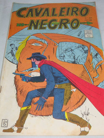 Cavaleiro Negro Nº 229 De 1971 Cores Faroeste Rge Excelente