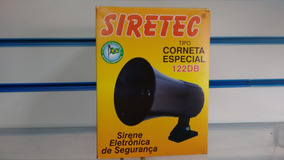 Sirene Corneta 122db Siretec