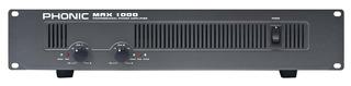 Phonic Max 1000 Amplificador De Potencia 600w