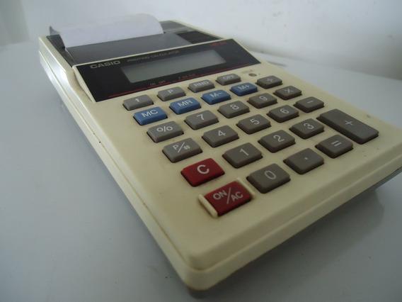 Calculadora Casio Hr 8a Vintage Raridade/com Impressão