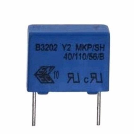 Capacitor Poliester 3.3 Nf X 300v Epcos Caixa 1000 Unidades