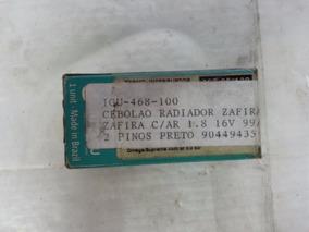 Cebolão Radiador Zafira C/ar 1.8 16v Após 1999 2 Pinos Preto