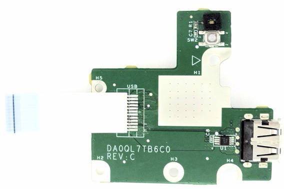 Placa Usb/ Botão Power LG Notebook C400 A410