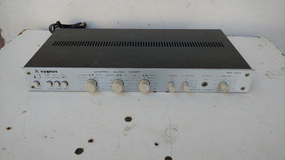 Mixer Cygnus Sm-400 Prata ( Restaurada A Frente)