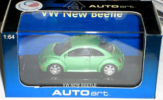 Auto Art Vw New Beetle (novo)