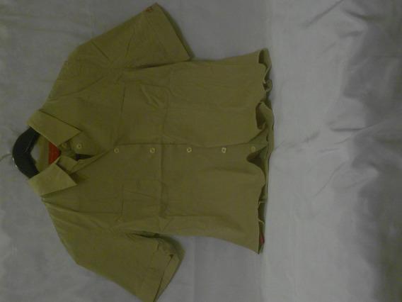 Camisa M/c Color Beige Paula Cahen D Anvers Talle 3