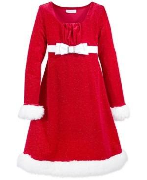 Vestido Santa Claus Para Niña Talla 2t 2 Años