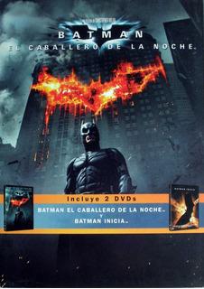 Dvd 2 Boxset Batman- El Caballero De La Noche- Batman Inicia