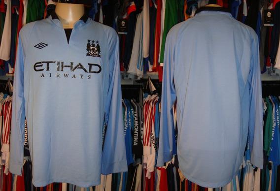 Manchester City - Camisa 2012 Titular Manga Longa