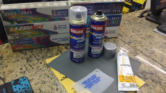 Kit Tinta Spray Reparo De Pintura Automotivo