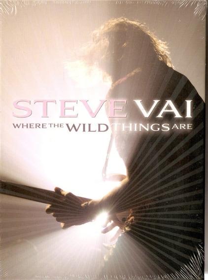 Dvd Duplo Steve Vai - Where The Wild Things Are - Novo***