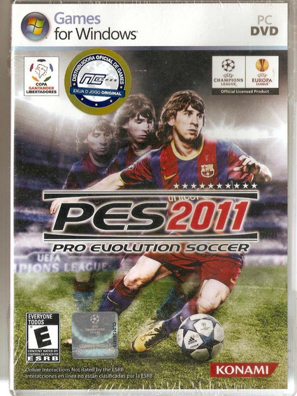 Dvd Pc Pes 2011 - Pro Evolution Soccer