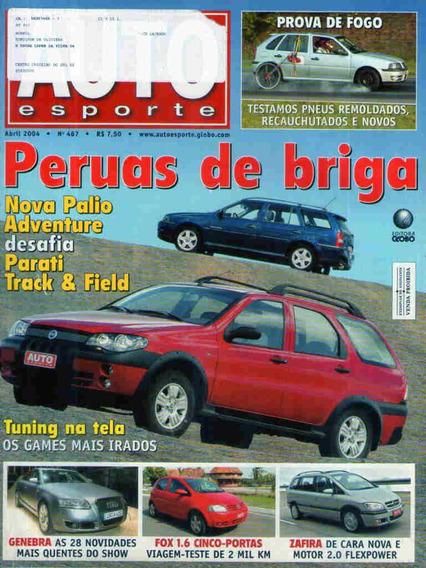 Auto Esporte 467 * Palio Adventure * Fox 1.6 * Zafira